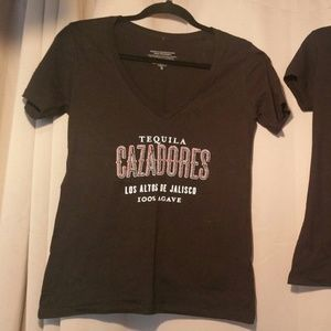 Two Ladies Tequila Brands Bartender T Shirts